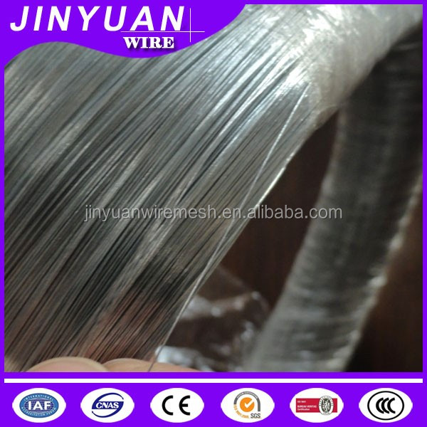 low carbon iron rod made electro galvanized wire 100kg/coil packing