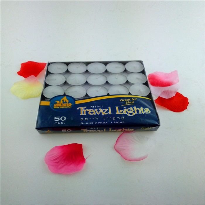 Wax Material and Tea Light Type natural tea light soy candles