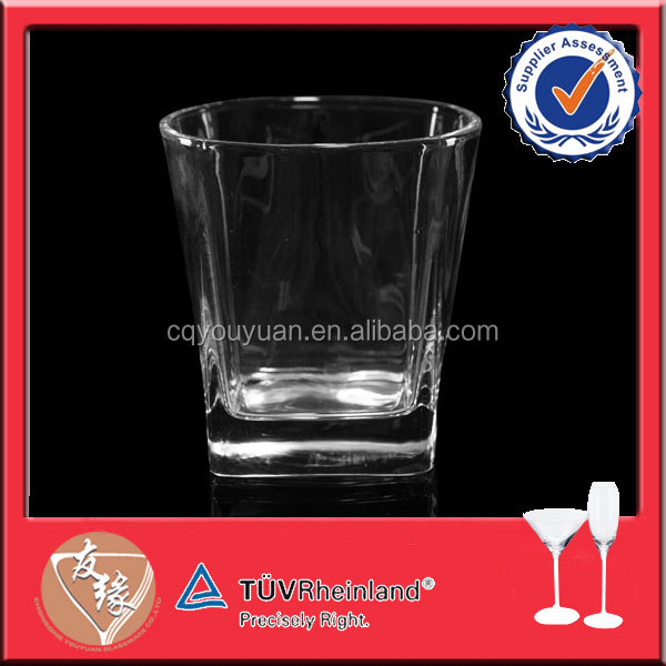 Top sale 240ml crystal clear anhui glassware factory