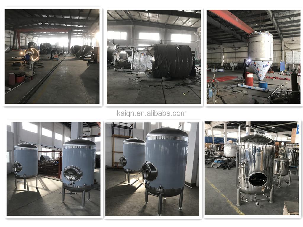 riscaldamento a vapore in acciaio inox serbatoio di fermentazione dello yogurt