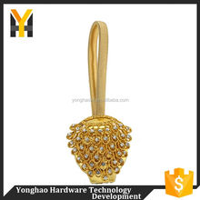 Main product rhinestone studded magnetic clips high-end curtain buckle