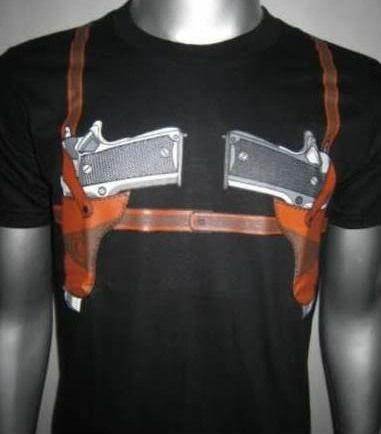 Fbi Police T Buy Fashion Shirt Shirts Belt Gunamp; Black Men's L5j3AR4