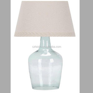 new elegant decorate glass table lamp modern bed lamp