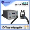 High accuracy 1000W bga smd rework station Quick 861DW