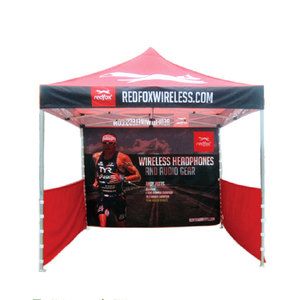Heavy duty frame pop up gazebo tent advertising trade show 3x3 beach canopy