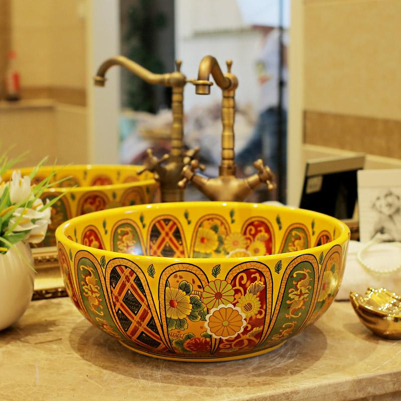 online get cheap bathroom sinks vintage alibaba group. Black Bedroom Furniture Sets. Home Design Ideas