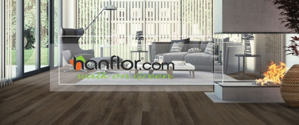 Hanflor high quality thick 2mm/3mm/4mm/5mm PVC Vinyl Floor