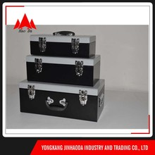 Material stainless steel tool chest newest easy to carry suitcase