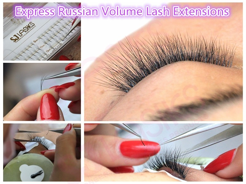 4752dc68ebc Pre Fanned Russian Volume 2D-6D Fan Lashes Individual mink eyelash extension