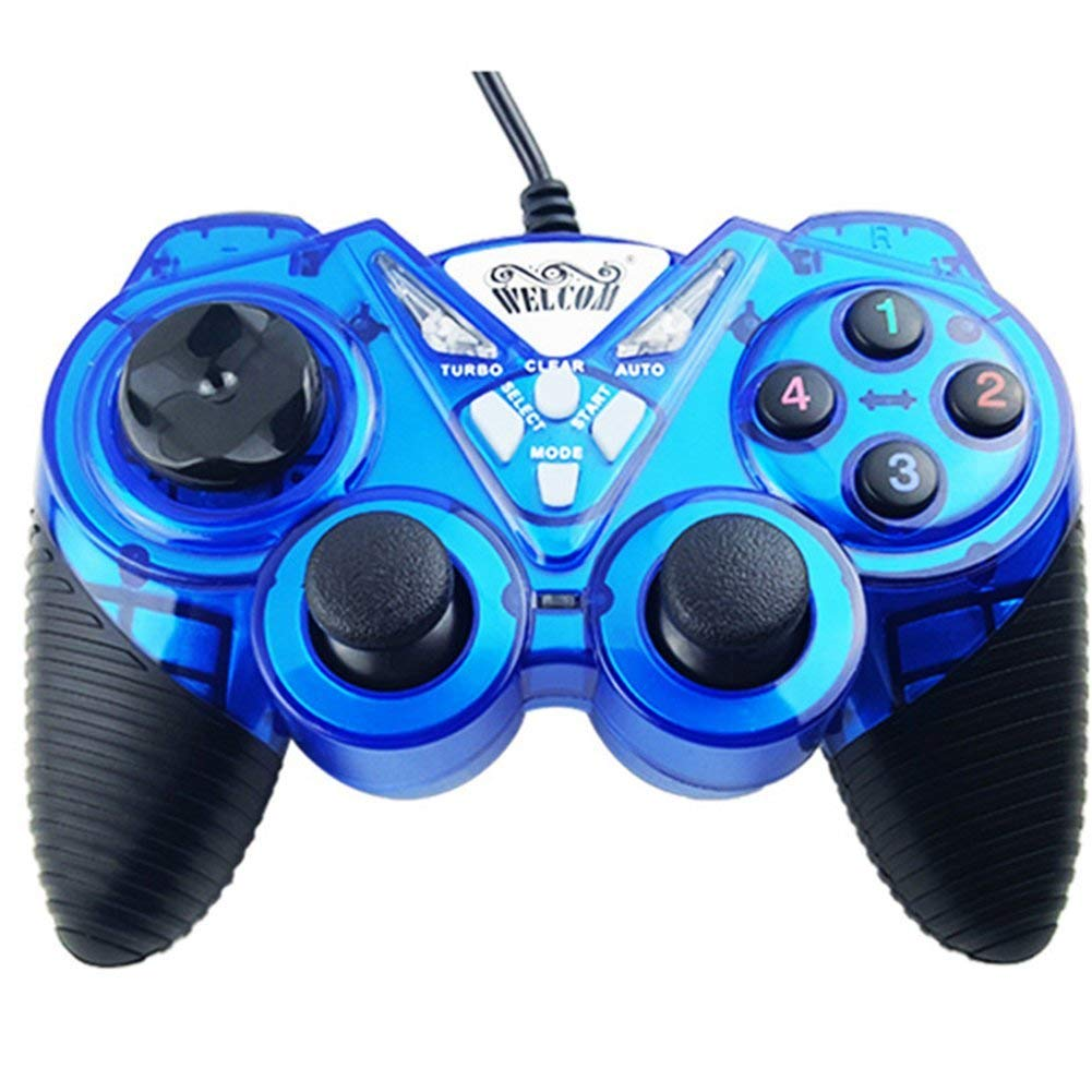 OOFAY Game Controller Gaming Joystick USB Gamepad For PC Laptop Vibration Gamepads For Window 7&10