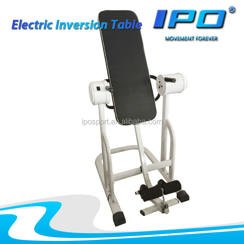 New Design multifunction electric Inversion Table Fitness home gym equipment