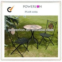 outdoor garden furniture tile top tables