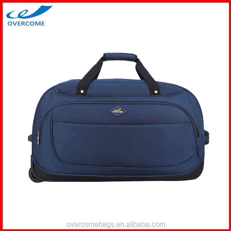 Plain Traveling Bag with Wheel