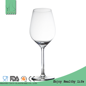 Cisco 2017 Hot New Design Custom RWG196 Wholesale Silver Rimmed Wine Glass