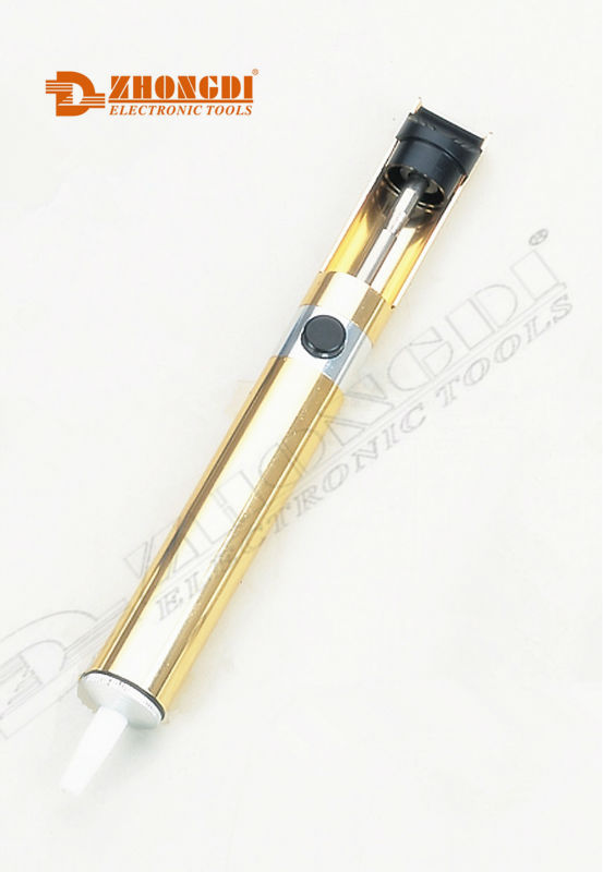 high quality gold soldering pump/desoldering pump of Ningbo ZD