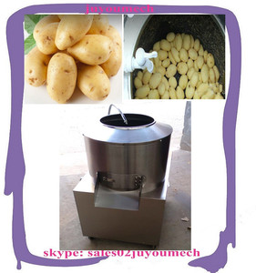 Food making edible tubers cassava potato peeling machine with factory price