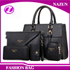 Fashion young women bags luxury designer classical black purses and handbags for girls