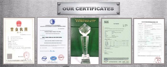 Prime kwaliteit standaard gewicht staal verzinkte buis gi diameter 110mm 250mm