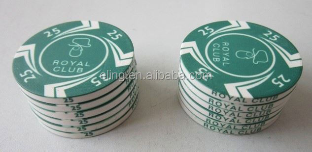 14 Gram Colorful Clay Poker Chips polymer stamp making machine