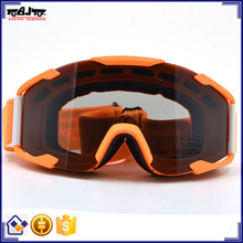 BJ-MG-019B Special Design Adult Smoke Single Len Off Road Goggles Motorcycle