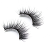 25mm long 3d mink lashes 25mm false eyelashes handmade 25mm lashes with private label own brand China vendor