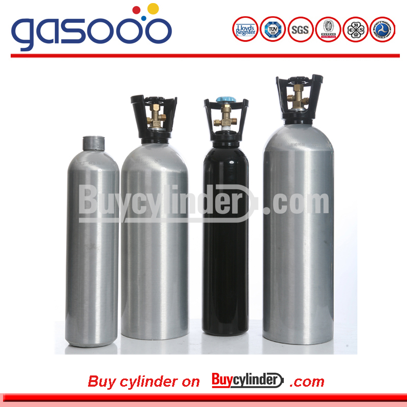 200bar Aluminium Gas Cylinder for High Purity Gas