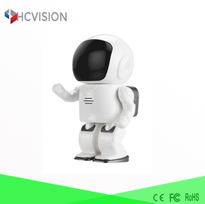 360 rotating robot mini camera ir led night vision alarm ip camera baby sitter micro wireless wifi webcam Two way audio