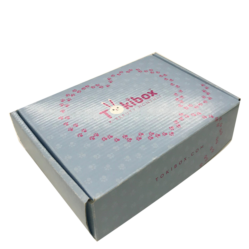 Custom Design Golden Stamp Matt Black Corrugated Paper Box Hot Corrugated Board box