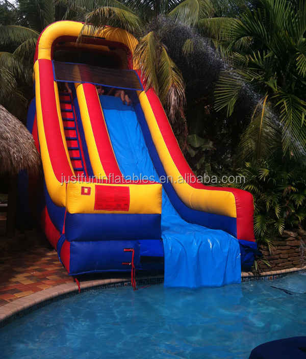 Customized Inflatable Pool Slides For Inground Pools,Slides For ...
