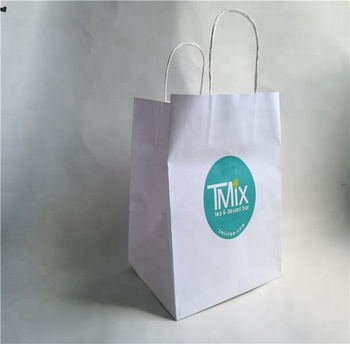 Runxing White Kraft Paper Bag Paperbag For Food Packaging Manufacturers In  Uae,Food Delivery Bag - Buy Paperbag,Kraft Paper Bag,Paper Bags
