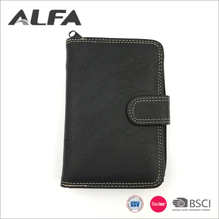 Alfa Wenzhou Supplier Custom Your Own Design Multipurpose Wallet For Men