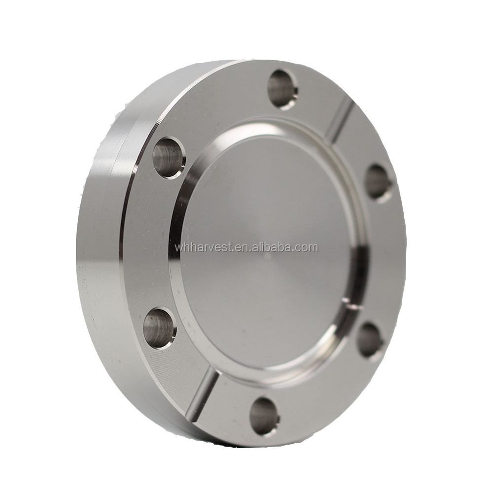 Stainless Steel 304 Fixed CF25 Blank Blind Vacuum Flange and fittings ConFlat
