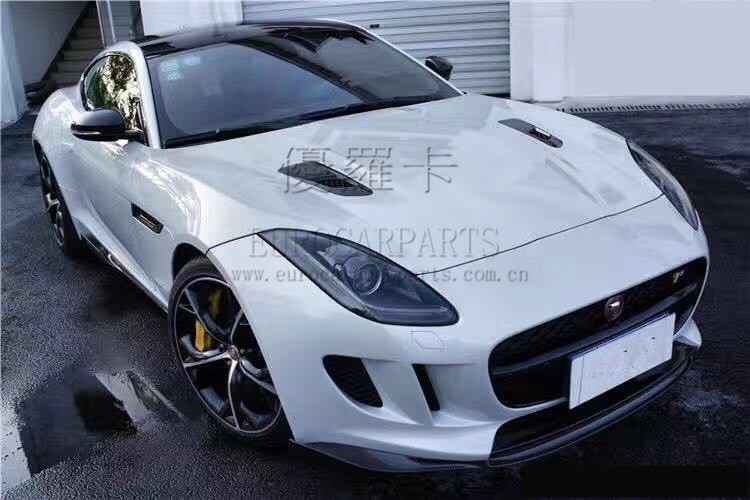 Body kits for Jeguar F type to startech with carbon front lip side skrits rear diffuser carbon finber parts for Ftype