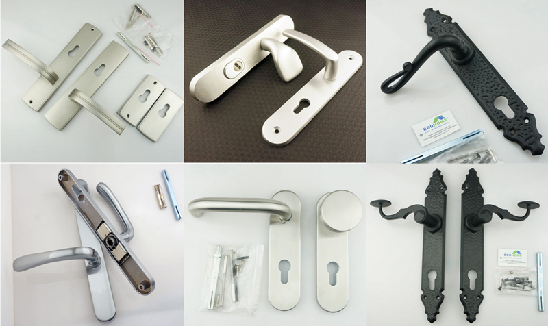 Hot selling Decorative lock defender armored doors italian style door lock escutcheon