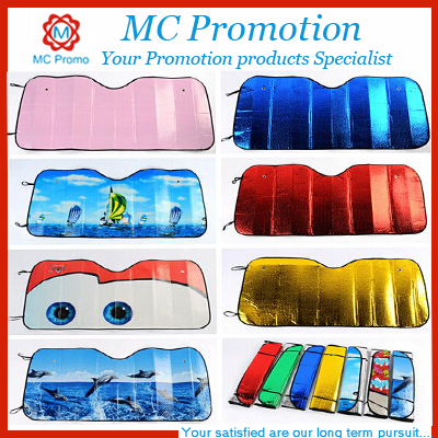 Cute Car Windshield Sun Shade with Logo