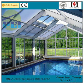 Sunroom glass house prefab price 541 buy glass house for Prefab glass house prices