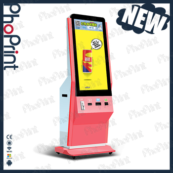Exhibition Digital Photo Booth For Sale Hashtag Printing