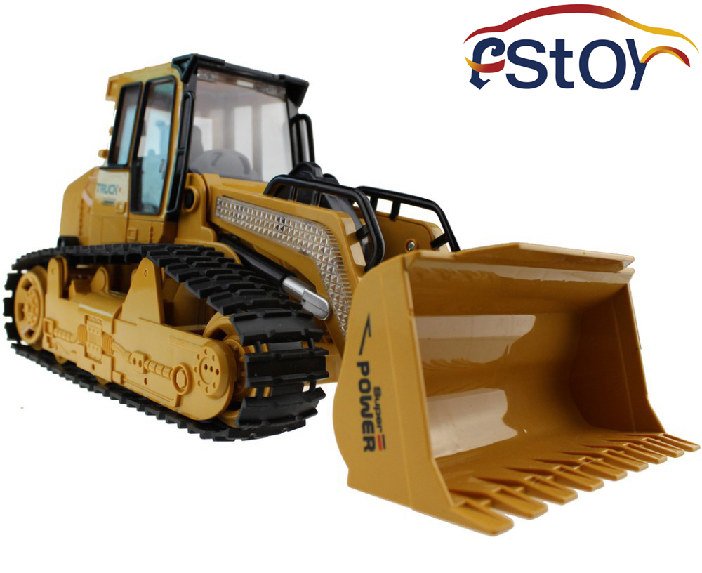 Large Rc Truck Bulldozer 6ch Caterpillar Track Remote