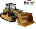 Large RC Truck Bulldozer 6CH Caterpillar Track Remote Control Simulation Pushdozer Engineering Forlift truck Model toys