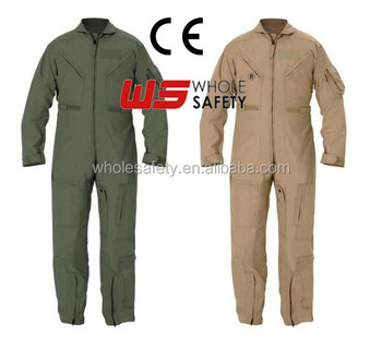Nomex Fire Resistant pilot coverall