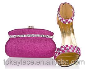 wholesale shoe set Fushia pink bag and gTWUxq