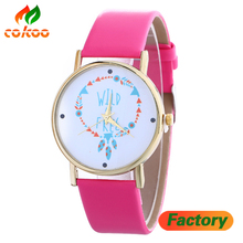 Hot Selling Fashion Flower Design Watch Simple Ladies Dress Vogue & Fashion Watches