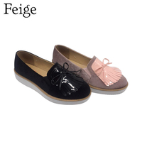 Hot sale modern high heel platform women casual loafer shoes