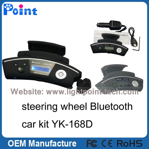 2018 new mobile phone with fm transmitter bluetooth car kit