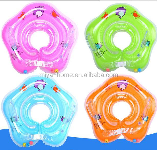 Hot selling Inflatable baby swim ring / Floating Swim Neck Swim Ring for Kids