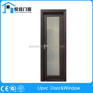 Exquisite upvc back door for bathroom