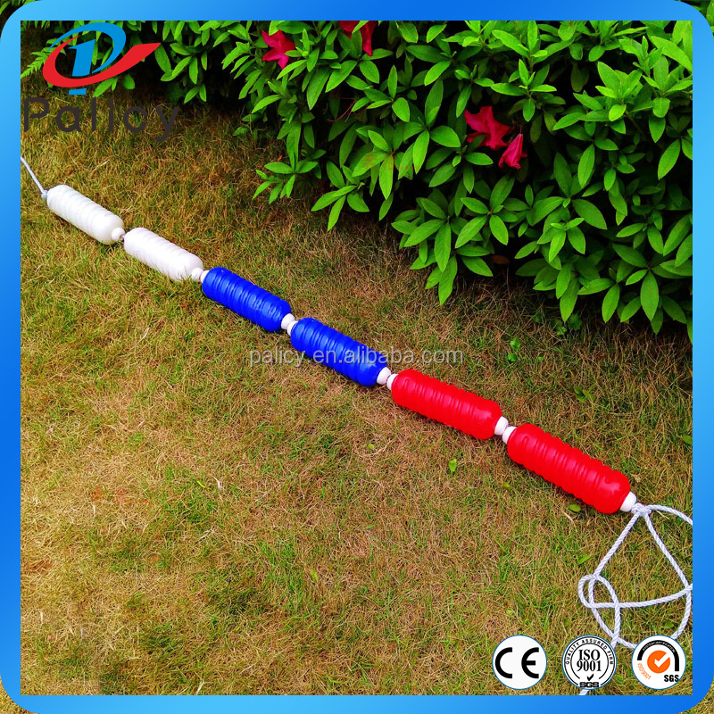 High Quality Swimming Pool Colorful Floating Lane Line With Rope and Hook