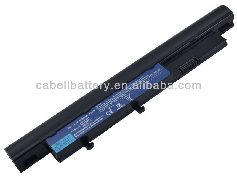 High Quality Battery Notebook/Laptop Battery, Replacement Battery for Acer Aspire 4810t, 9 Cells