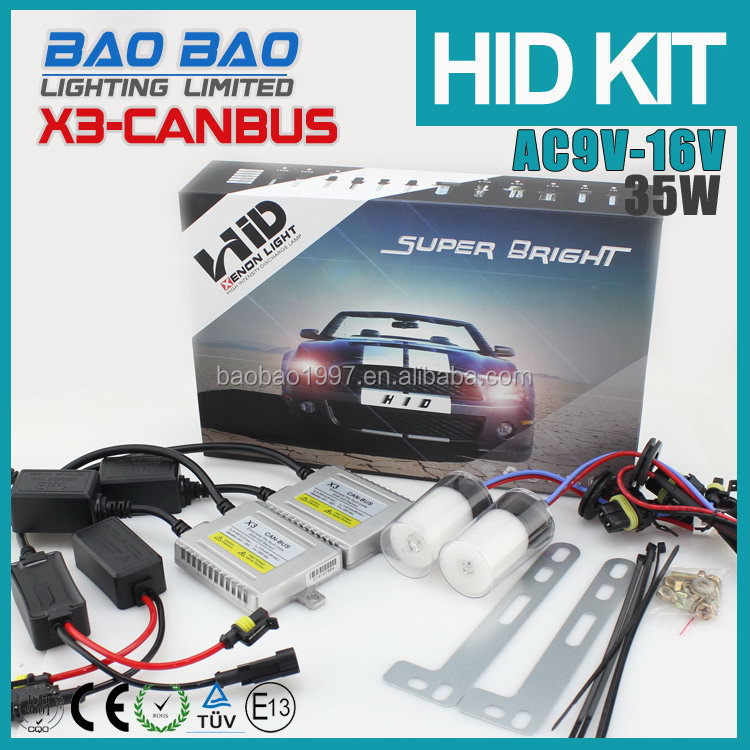 2015 unique top quality car used hid xenon kit