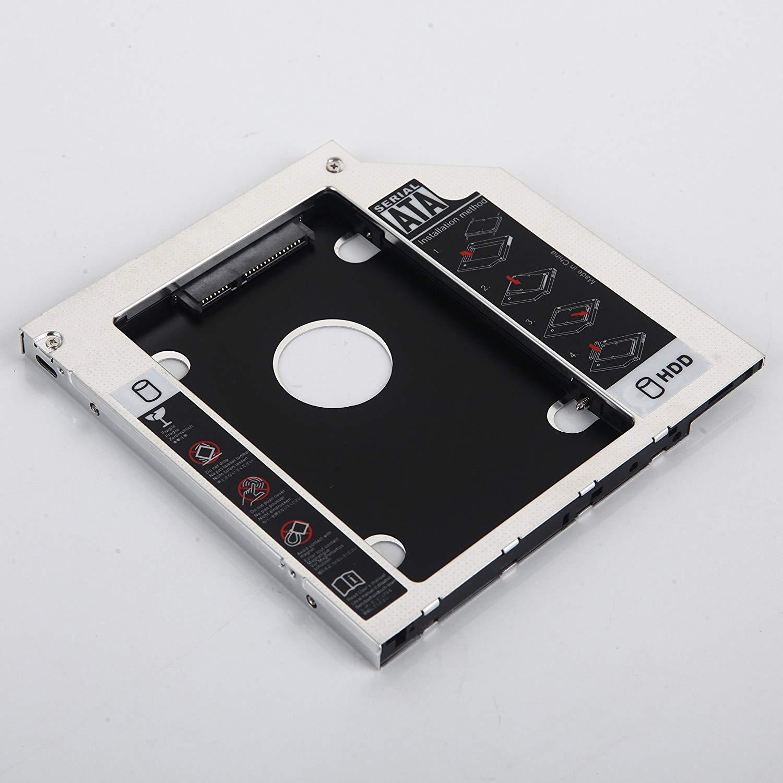 DY-tech 2nd HDD SSD Hard Drive Enclosure Caddy for Samsung QX412 NP-SF510-S05GR NP-SF411